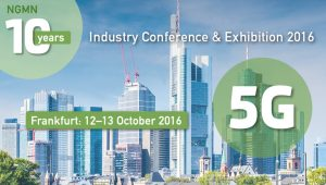 NGMN Industry Conference and Exhibition 2016 @ Steigenberger Airport Hotel | Frankfurt am Main | Hessen | Germany